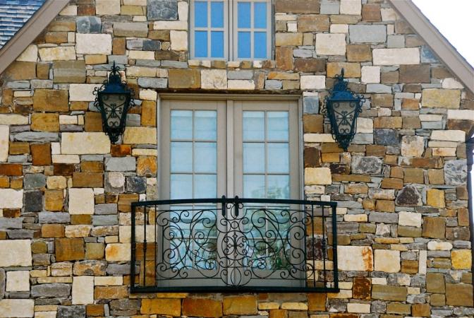 Barandilla balcón de hierro